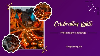 """featured image thumbnail for post """"Celebrating Lights"""" - Photography Challenge"""