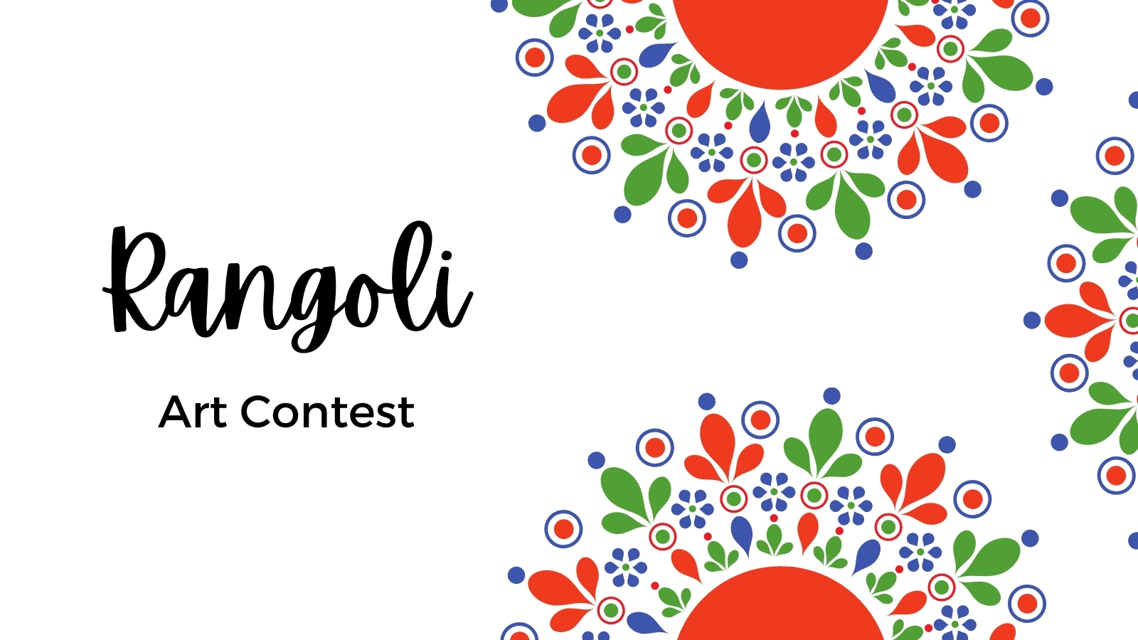 featured image thumbnail for post Rangoli Art Contest