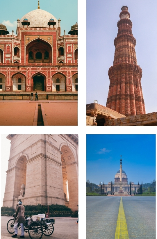 Sample Images for Monuments of Delhi - Photography Challenge