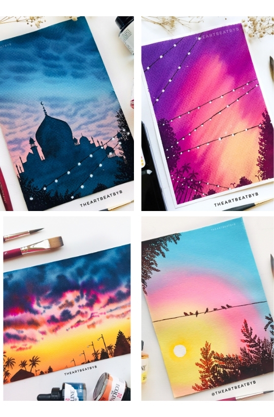 Sample Images for Christmas Cards - Art Challenge