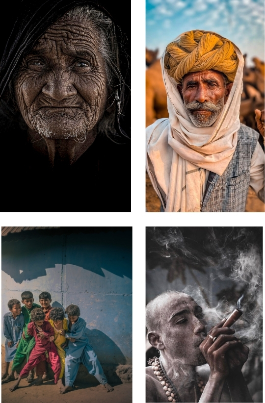 Sample Images for People and Portraits - Photography Challenge