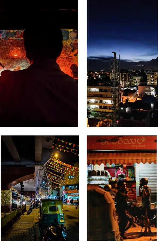 Sample Images for Bengaluru Night Life - Photography Challenge