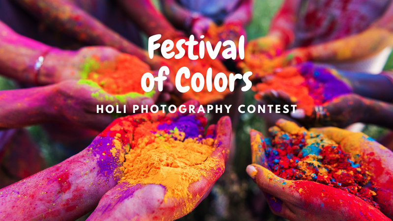 featured image thumbnail for post Holi Photography Contest