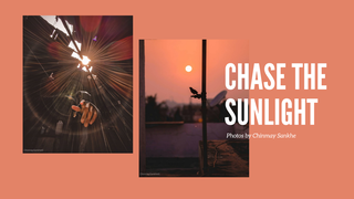 "featured image thumbnail for post ""Chase the Sunlight"" - Photography Challenge"