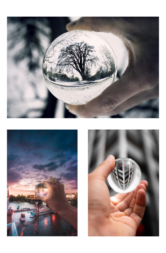 Sample Images for Lensball Photography Challenge