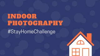 featured image thumbnail for post Indoor Photography - #StayHomeChallenge