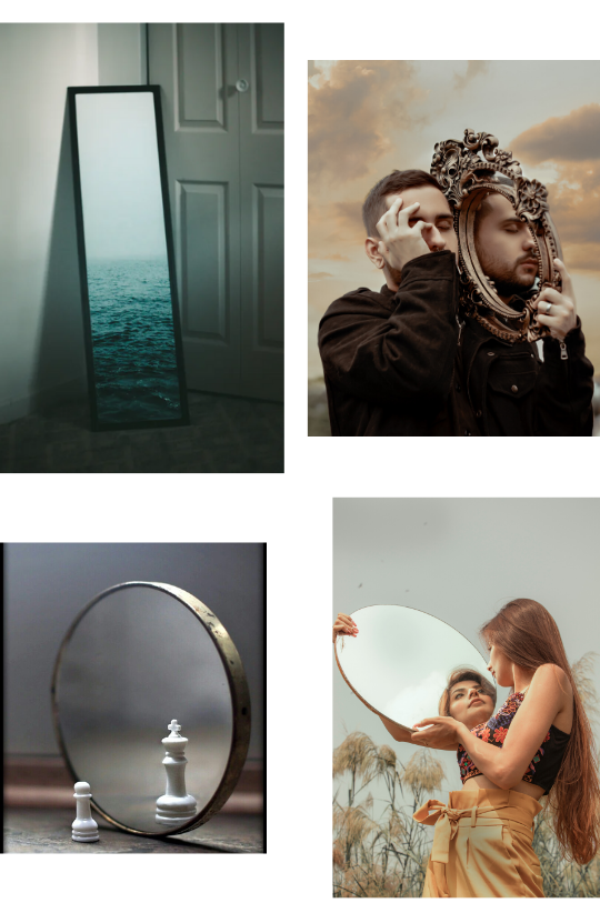 Sample Images for Mirror Photography Challenge