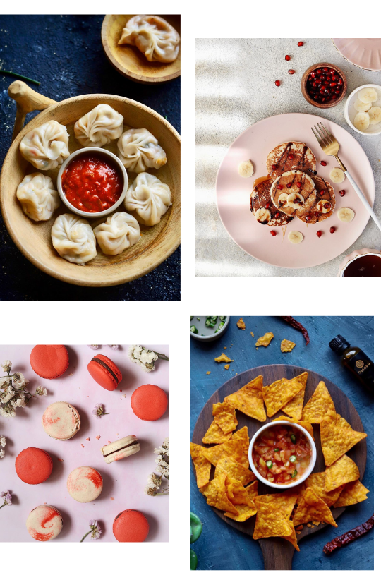 Sample Images for Flat Lay Food Photography Challenge