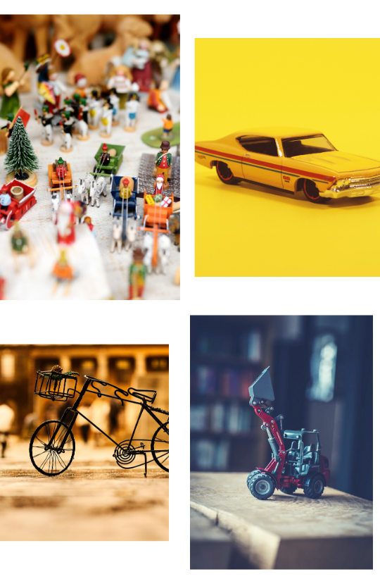 Sample Images for Miniature Photography Challenge