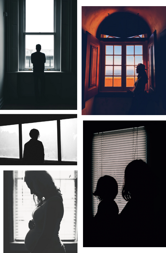 Sample Images for Window Silhouette Photography Challenge