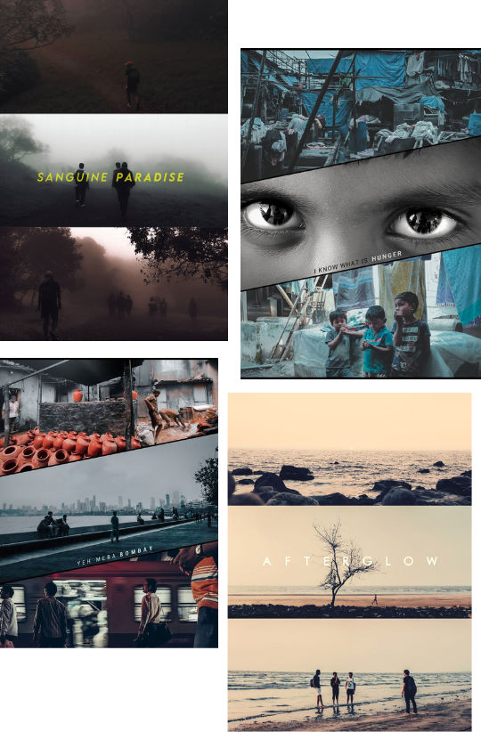 Sample Images for Storytelling in a Collage - Photo Editing