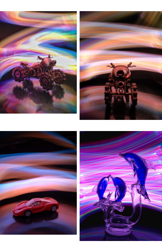 Sample Images for Indoor Light Painting