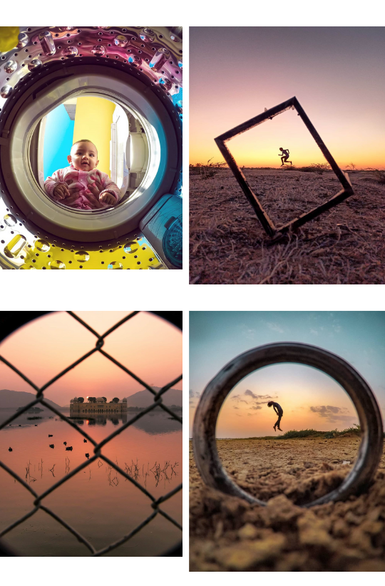"""Sample Images for """"Frame Your Shots"""" - Photography Challenge"""