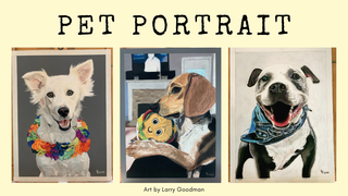"featured image thumbnail for post ""Pet Portrait"" - Art Challenge"