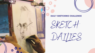 featured image thumbnail for post Sketch Dailies– Daily Sketching Challenge