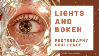 featured image thumbnail for post Lights and Bokeh Photography