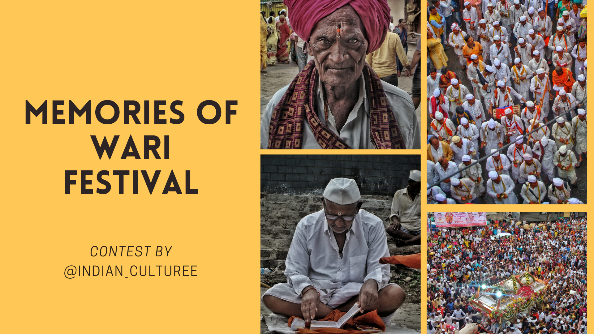 featured image thumbnail for post Memories of Vaari/Wari Festival - Photography Contest