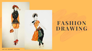"featured image thumbnail for post ""Fashion Drawing"" - Art Challenge"