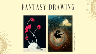 featured image thumbnail for post Fantasy Drawing - Art Challenge