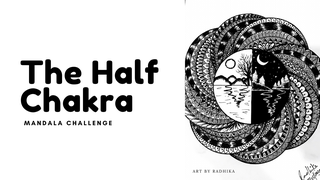 "featured image thumbnail for post ""The Half Chakra"" Mandala Challenge"