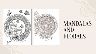 featured image thumbnail for post Mandalas and Florals - Art Challenge