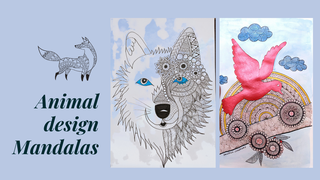 featured image thumbnail for post Animal Design Mandalas - Art Challenge