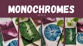 "featured image thumbnail for post ""Monochromes"" Art Challenge"