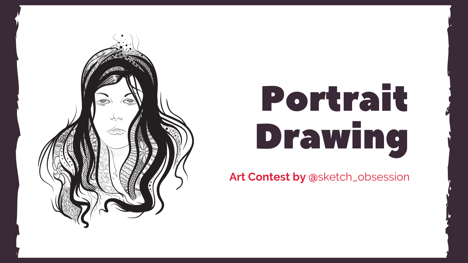 featured image thumbnail for post Portrait Drawing Contest by @sketch_obsession