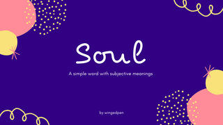 "featured image thumbnail for post ""Soul"" - Writing Prompt"