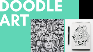 featured image thumbnail for post Doodle Art Challenge