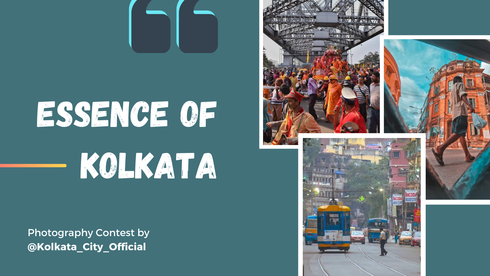 "featured image thumbnail for post ""Essence of Kolkata"" - Photography Contest"