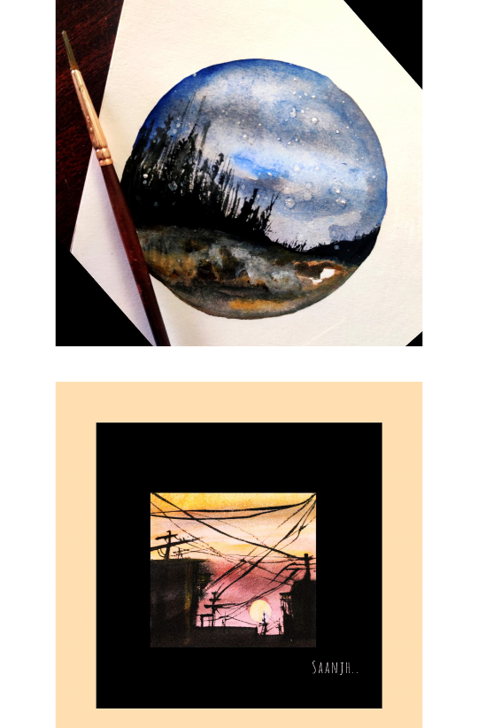 Sample Images for Shades of Sky - Art Challenge