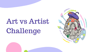 featured image thumbnail for post Art Vs. Artist Challenge