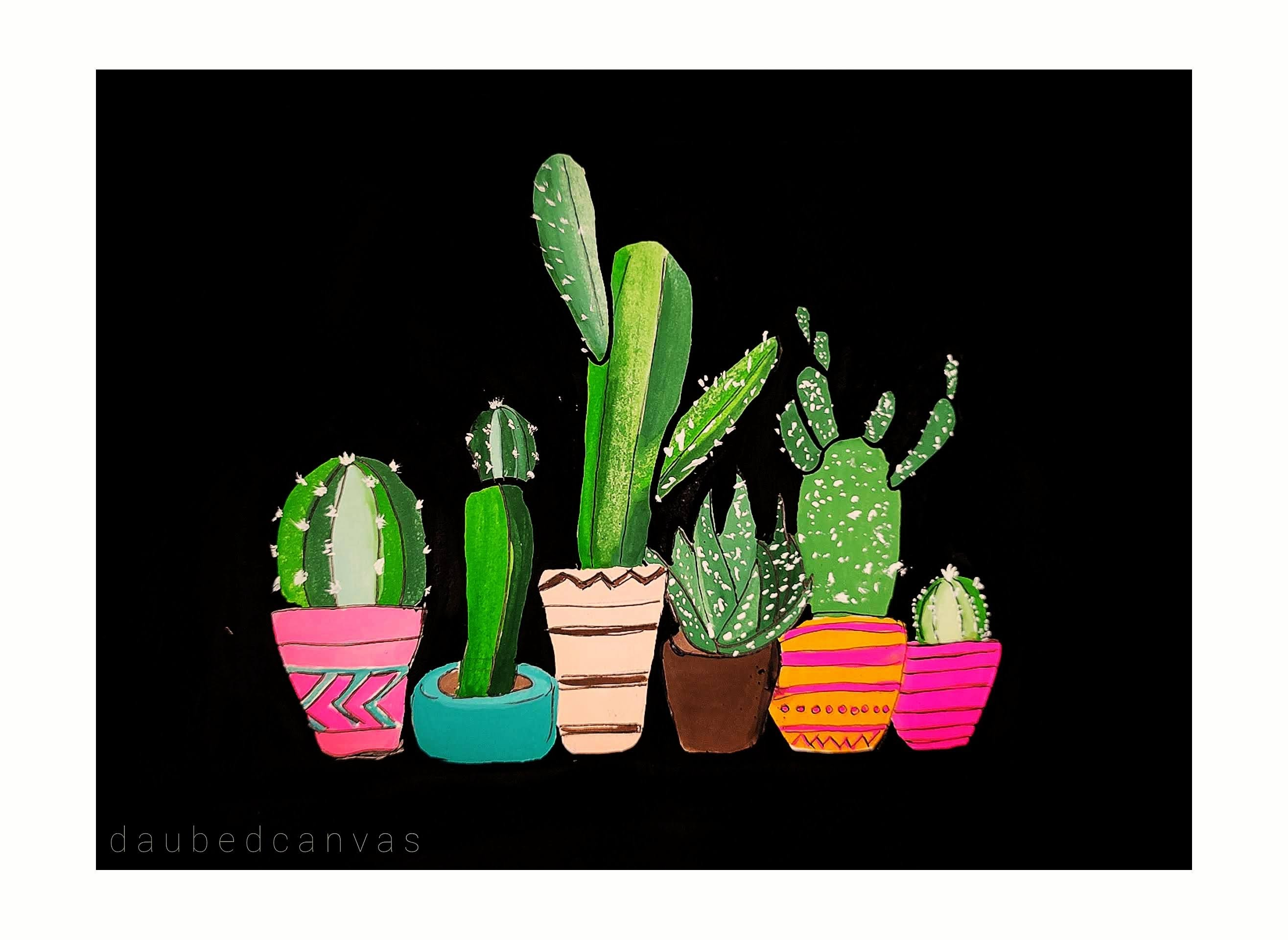 Sample Images for Cactus - Art Challenge