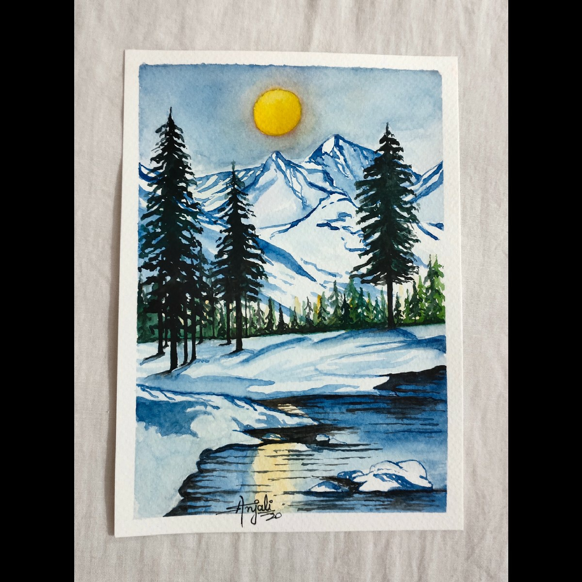 Sample Images for All about winter ❄ - Art Challenge